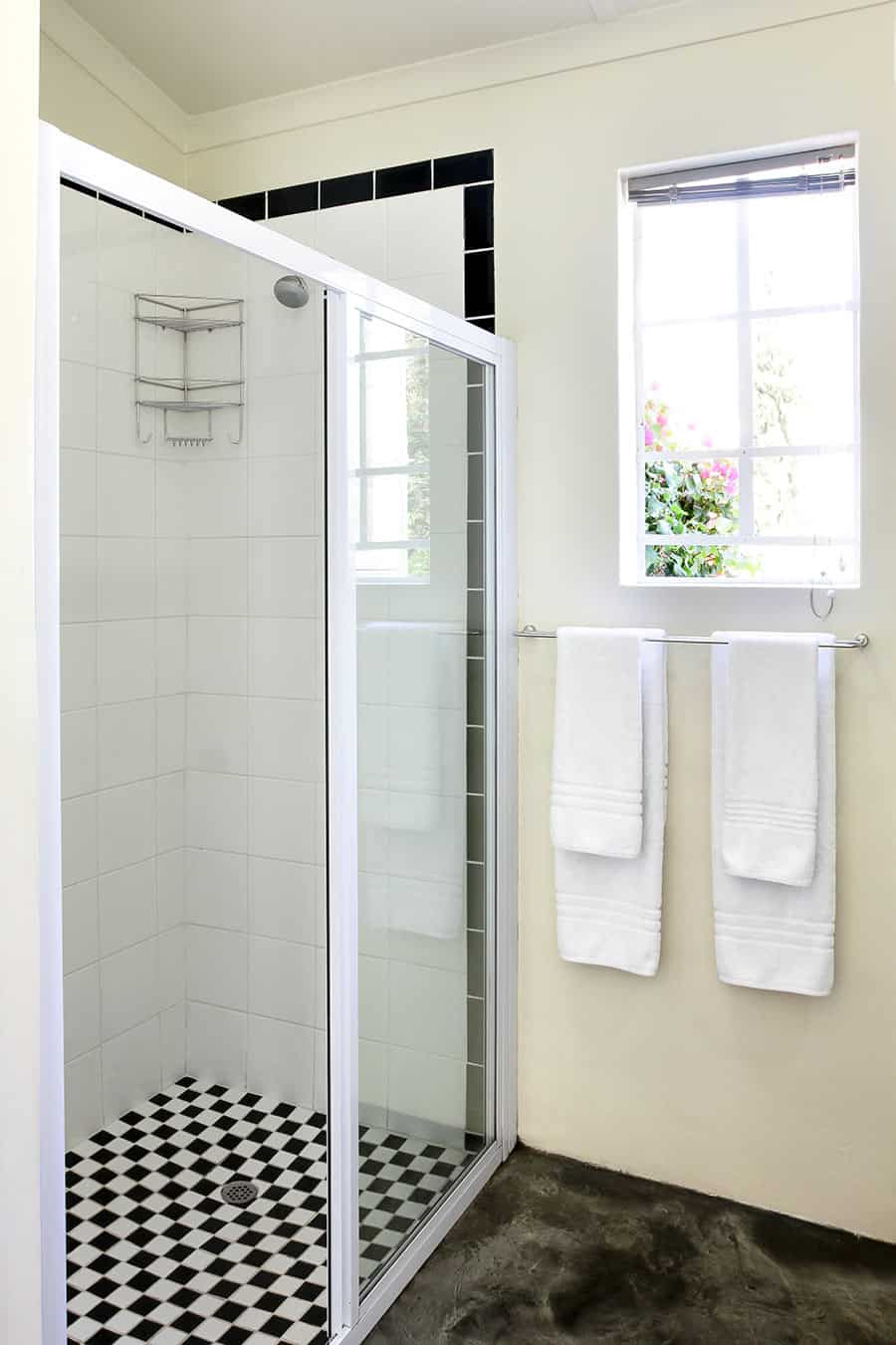 Art Deco Shower Bathroom