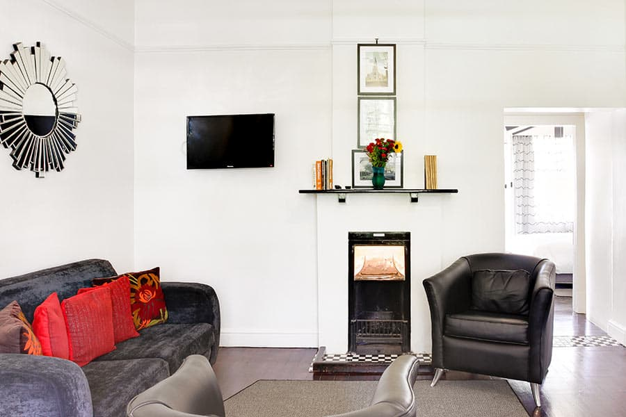 Self catering apartment lounge