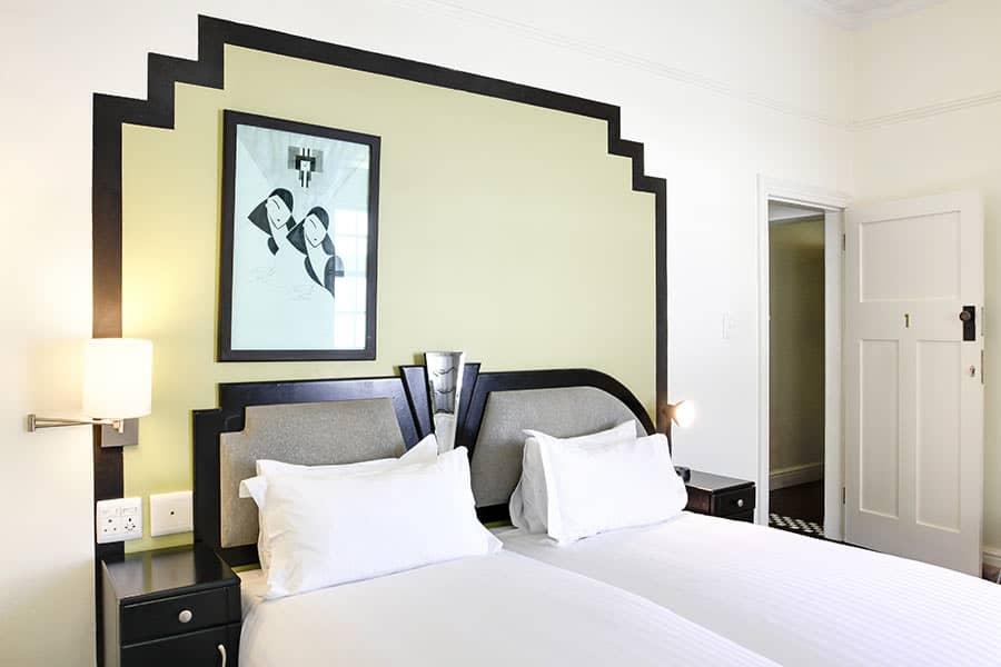 Self Catering Art Deco Bedroom
