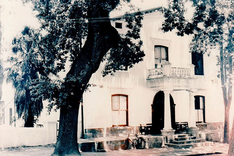 History of Stellenbosch hotel and self catering apartments