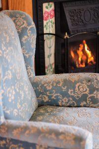 Eendracht Hotel Fireplace Dining Room